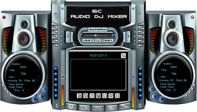 SC Free Audio DJ Mixer screenshot